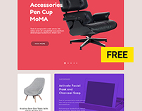 Free PSD. Accessories Template