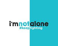 i'm not alone Mental Health awareness BRANDING
