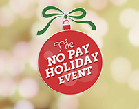 No Pay Holiday Event Logo