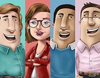Personagens Clube da Refrigeração