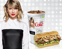 Subway / Diet Coke - Taylor Swift Promotion