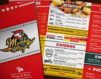 Menú Mambo Wings