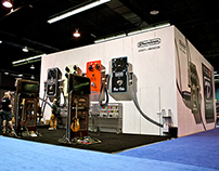 Dunlop Trade Show Booth 2014