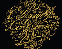 Calligraphy Conference Poster