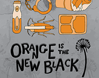 Orange is the New Black Design Campaign