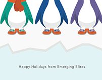 Emerging Elites Holiday Card