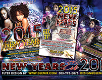 Freelon's Lounge New Year's Eve Flyer Design