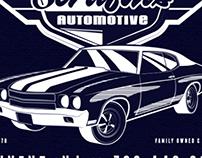 Serafin's Automotive T-Shirt