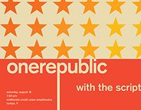 Swiss Style OneRepublic Posters