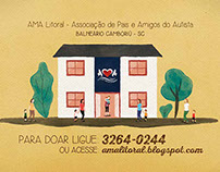 Campanha social para AMA Litoral /// Social campaing