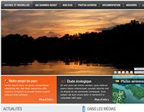 Website - Sauvons nos trois grandes îles (2010)