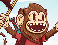 The Legendary adventures of the Pirate Monkey