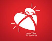 regala VIDA dona órganos