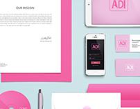 Personal Branding: Adi Adara Logo with Mockup