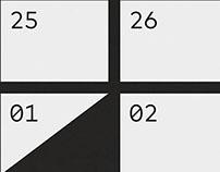 2015 calendar, 1 of 4