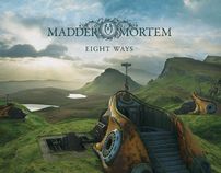 "Album Cover ""Eight Ways"" Madder Mortem"