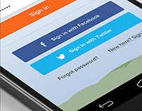 Android App UI UX