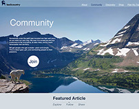 Backcountry.com Web&App Redesign with Flat UI