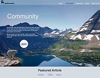 Backcountry.com Web&App Redesign with Flat UI