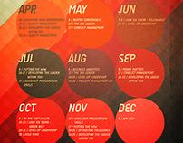 INSPIRE Calendar of Seminars 2015