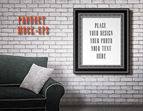Vintage Room - Frame mock-ups