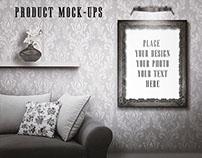 Vintage Room - Frames Mock-ups 2