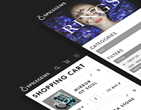 SPICEGEMS. Website and identity
