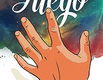TE DOY MI FUEGO / UNOFFICIAL ALBUM COVER