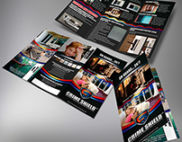 Crime Shield Security Screens Trifold Brochure