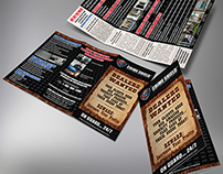 Crime Shield Security Screens Dealers Trifold Brochure