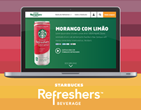 Starbucks Refreshers Desktop Version