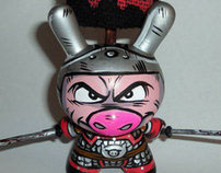 "Junjie ""The Warrior Pig"""