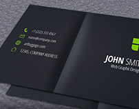 Journal Design Business Card