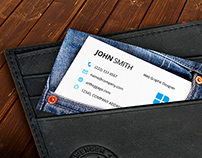 Jeans Design Business Card