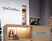 """Just Couture"" shoes and accessories store"