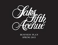 Saks Fifth Avenue Buying Plan
