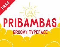 Pribambas — free typeface