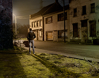 Doel at night
