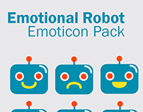 Emotional Robot Emoticons
