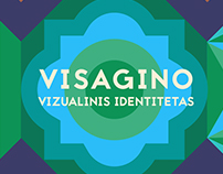 Grid-based identity for the city of Visaginas