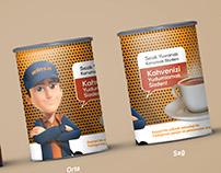 Özer Pan Promosyon Kahve Kutu Tasarımı