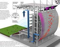 National Stadium's new light system