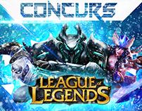 League of Legends contest 2014 poster