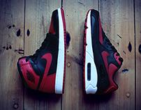 """Nike Air Max 90 iD x Air Jordan 1 """"Banned"""""""