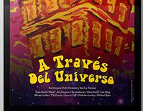 """Cartel """"A Través del Universo"""""""