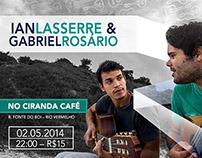 Poster / Ian Lasserre e Gabriel Rosário