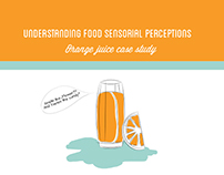Presentation Design. Food Sensorial Perceptions