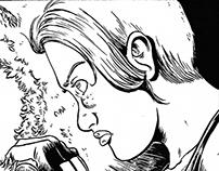 Vanquish. Comic Book pencils and inks.