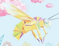 Geometric Bee