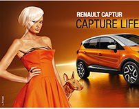 Renault Captur Launch Print